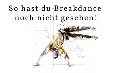 So hast du Breakdance noch nie gesehen!