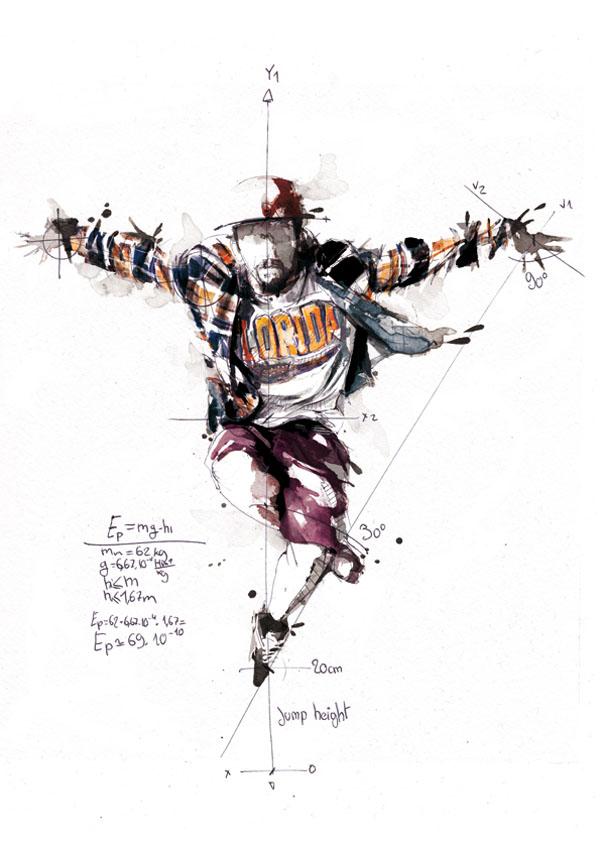 Florian-Nicolle-Break-Dance-Illustrations-1
