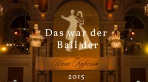 Ball der Wiener Kaffeesieder 2015