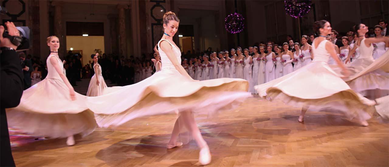 Tanzshow am Ball der Kaffeesieder