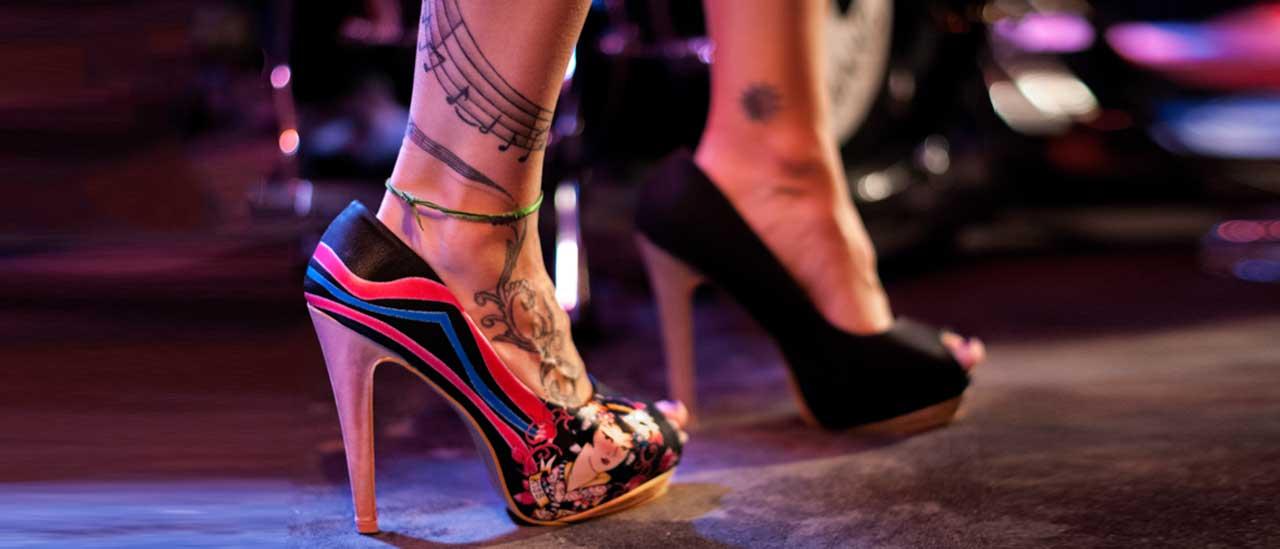 Tanzen mit High Heels