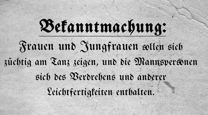 Wiener Walzer Geschichte